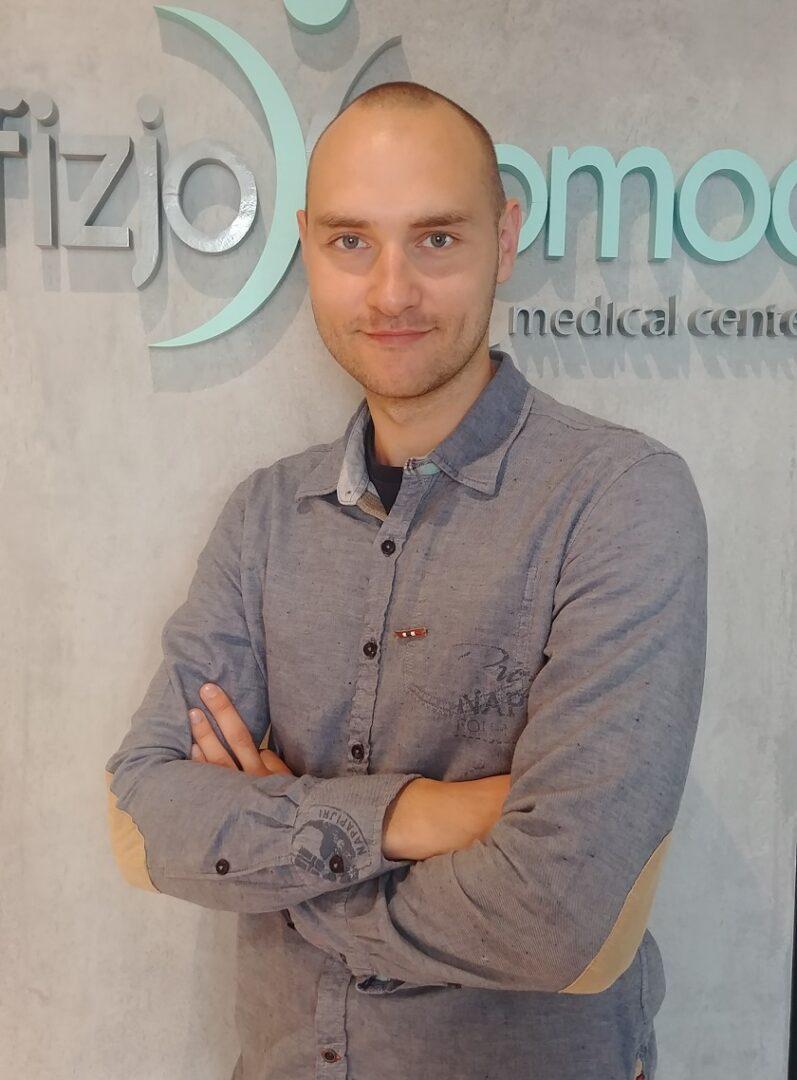 Fizjoterapeuta Marek Skawiński