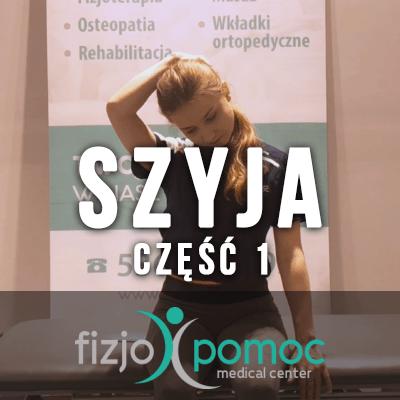 Fizjoterapia - zestaw ćwiczeń na szyję część 1